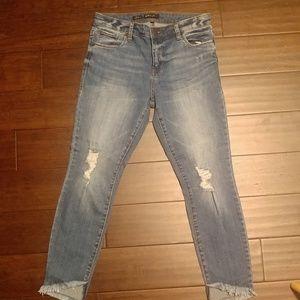 STS Raw hem Emma Ankle Skinny jeans 2276